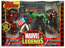 MARVEL LEGENDS YOUNG AVENGERS box-set Toy Biz
