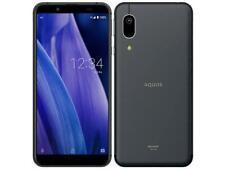 SHARP AQUOS sense 3 basic SHV48 au Smartphone Android Unlocked Black