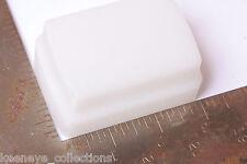 """Flash Diffuser - Approx. 1 7/8 x 2 7/8"""" Attachment - White - USED C149"""