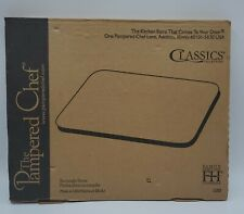 New listing The Pampered Chef Family Heritage Stoneware 12 x 15 Rectangle Baking Stone #1350