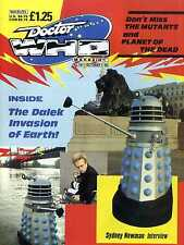 DOCTOR WHO MAGAZINE #141 THE DALEK INVASION OF THE EARTH, SYDNEY NEWMAN