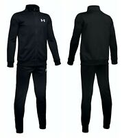 New Under Armour Boys Tracksuit Knit Bottoms Kids Tracksuits Football Jacket