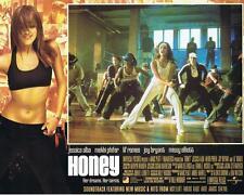 HONEY - 2003 - original 11x14 Lobby Card #4 - JESSICA ALBA as dance instructor