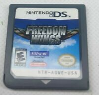Freedom Wings Nintendo DS Game Only Free P&P NTSC USA (PLAYS ON UK DS)