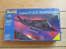 Revell Lockheed F-117A Nighthawk 1/72 Model Kit Boxed + Unused