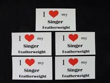 "SINGER FEATHERWEIGHT SEWING MACHINE "" THEMED MAGNET "" (5 Pack)"