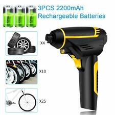Cordless Car Tyre Inflator Air Pump 12V Digital Wireless Heavy Duty Rechargeable