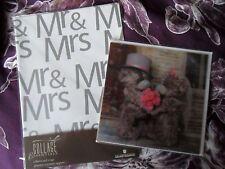 BNIP Me To You Tatty Teddy Wedding Card & Collage Gift Wrap/Tag Set - Free P&P