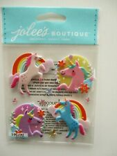 JOLEE'S BOUTIQUE STICKERS - Unicorns