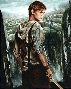Thomas Brodie Sangster Maze Runner Autographed Signed 8x10 Photo Rep
