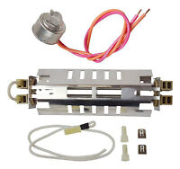WR51X10101 Refrigerator Double Tube Defrost Heater & WR50X10068 GE Hotpoint NEW