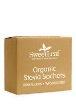 SweetLeaf Organic Stevia Sachets 1,000ct