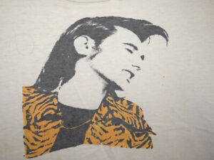 BRYAN FERRY ROXY MUSIC DISTRESSED GRUNGE Rock Shirt  SMALL to MED