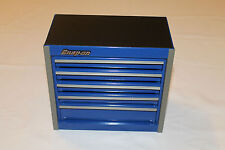 Snap On Royal Blue Mini Bottom Roll Cab Tool Box Rare Brand New