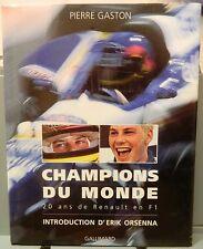 AUTOMOBILISMO _GASTON: CHAMPIONS DU MONDE _ RENAULT EN F1 _formula 1 _Villeneuve