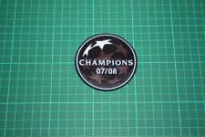 UEFA CHAMPIONS LEAGUE WINNER BADGE 2007-2008