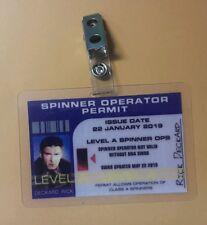 Blade Runner ID Badge-Operator Permit Rick Deckard prop costume cosplay