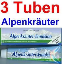 (23,00 EUR / 1Ltr.) LLOYD Alpenkräuter Emulsion Balsam 3 x 200 ml