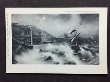 RP Vintage Postcard - Yorkshire #A23 - Wreck Off Scarborough - Raphael Tucks