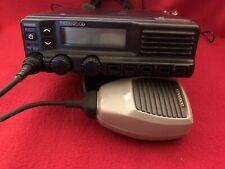 Kenwood Tk-5810-K Uhf P25 Mobile Radio Analog And Digital