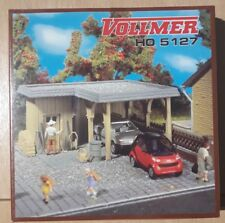 VOLLMER 5127 H0 kit -  Single car carport (NOT OPEN TO OFFER)