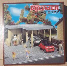 VOLLMER 5127 H0 kit -  Single car carport
