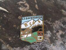 Ancien insigne badge la savoyarde Alt 1832 émaillé