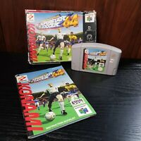 International Superstar Soccer -  Nintendo 64 Game - Boxed - UK Version