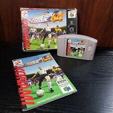International Superstar Soccer-Nintendo 64 Juego-en Caja-Versión UK