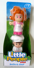Little People 2 Pack Sofie and Chef (Last One) DISCOUNTED
