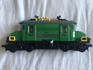 LEGO CITY 7898 GREEN CARGO TRAIN USED. 2 Trains For Sale With Controllers
