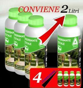 ADAMA DISERBANTE TOTALE ERBICIDA GLIFOSATE GLYPHOSATE 1x500 ml / 3+1 omaggio = 4
