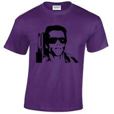 infantil Terminator Camiseta Cyberdyne Arnold Schwarzenegger Infantil