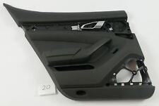 Porsche Panamera Turbo 2010 - Türpappe Türverkleidung Tür hinten links schwarz