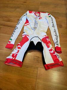 Brand New Original Castelli Cycling Long Sleeve Skinsuit Italy Size M Unisex