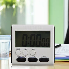LCD Digital Kurzzeitmesser Küchenuhr Kurzzeitwecker Eieruhr Timer Magnet Timer~