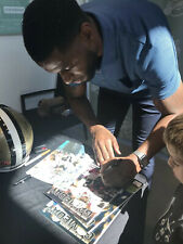 Marques Colston Signed New Orleans Saints Game Program Autographed