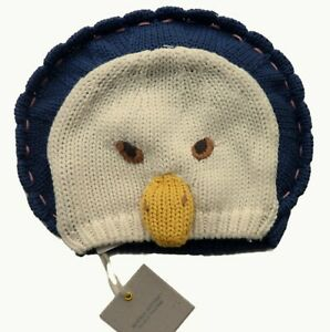 GAP Baby Beanie Hat Boys Girls Unisex Knitted JEMIMA PUDDLEDUCK Animal 0-3 3-6