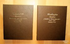 1999 - 2008 Complete 200 Coin State Quarter Set wSilver Proofs & 2 Dansco Albums