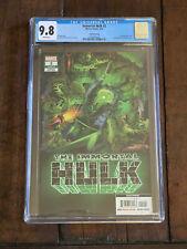 Immortal Hulk #2 CGC 9.8 (Marvel 2020) 🔥 4th Print - 1st Dr & Del Frye & Cover