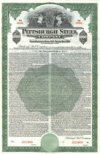 Pittsburgh Steel Company > 1940 Pennsylvania bond certificate stock Steelers