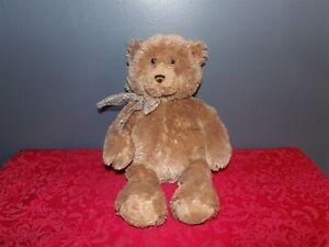 "Adorable 15""  Gund Plush RIGBY Brown Bear w/ Ribbon #15312 (*34)"