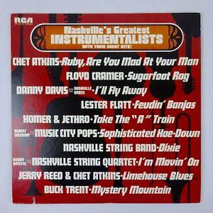 Nashville's Greatest Instrumentalists Their Great Hits Vinyl LP Various Artists