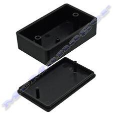 58x35x21mm Abs Negro gabinete de plástico pequeño proyecto Caja Para Circuito Electrónico