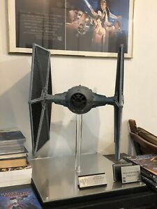Star Wars Episode IV A New Hope EFX Tie Fighter. Not Master Replicas.