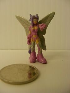 Digimon ? miniature Mini 1.5in. articulated ACTION FAIRY FIGURE  Bandai 2002
