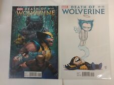 X-Men Comic Death of Wolverine variants 1 vol 1 4 issue 4 1 vol 1 and more NM BB