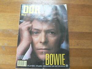 OOR 1983 NO 12 COVER DAVIE BOWIE &  SPECIAL BIJLAGE + ANTON CORBIJN FOTO'S