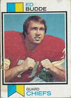 1973 Topps #462 Ed Budde Kansas City Chiefs Football Card