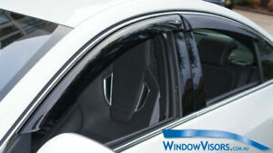 Window Visors WeatherShields 4pcs weather shields for Jaguar XF X250 2007-2015